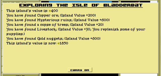 I'm glad I explored the Isle of Bladderbat.