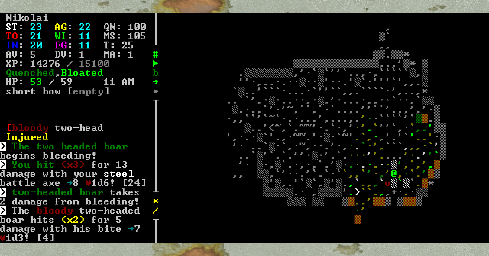 Caves Of Qud World Map.Roguelike Highlights Caves Of Qud Waltorious Writes About Games