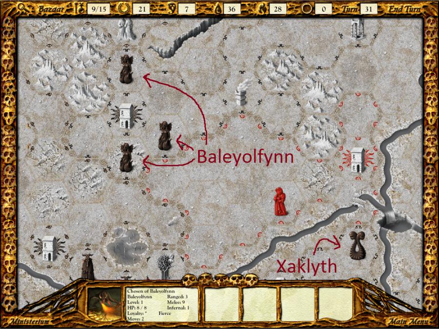 Baleyolfynn's back.