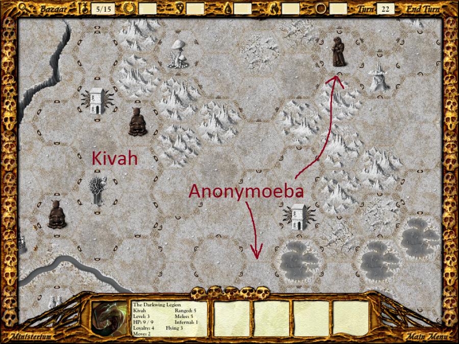 Anonymoeba considers claiming vendetta on Kivah.